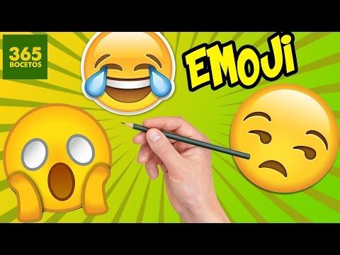 Como dibujar 3 emojis en humanos