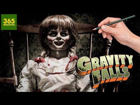 Como dibujar a Annabelle estilo Gravity Falls