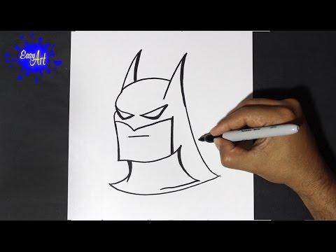 Como dibujar a Batman paso a paso