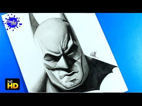 Como dibujar a Batman realista