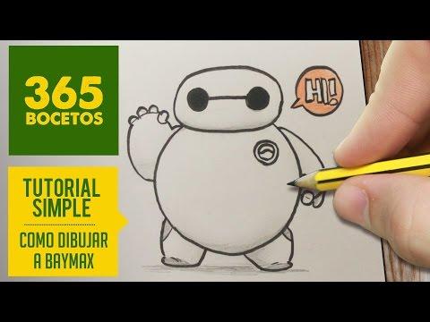 Como dibujar a Big Hero 6