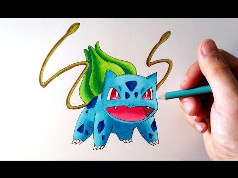 Como dibujar a Bulbasaur