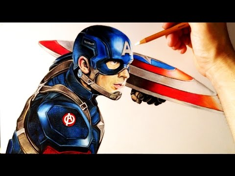 Como Dibujar a Capitán América