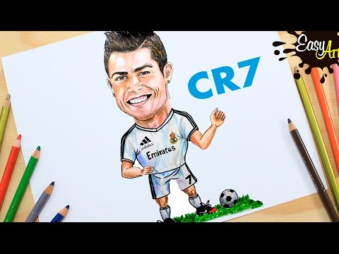 Como dibujar Futbolistas