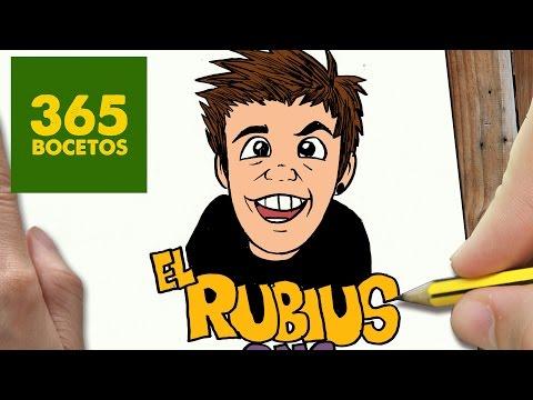 Como dibujar a ElRubius
