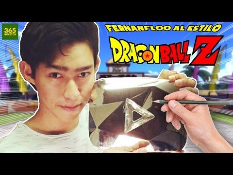 Como dibujar a Fernanfloo estilo Dragon Ball