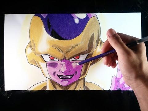 Cómo dibujar a Freezer de Dragon Ball