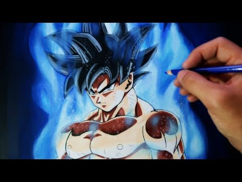 Como dibujar a Goku Limit Breaker