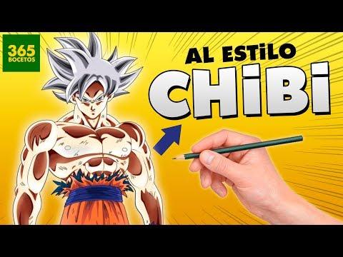Como dibujar a Goku Migatte no Gokui chibi