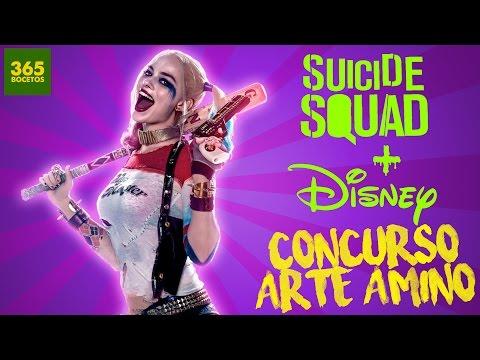 Como dibujar a Harley Quinn estilo Disney