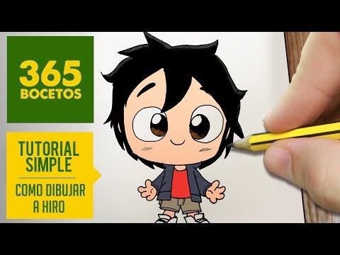 Como dibujar a Hiro de Big Hero 6