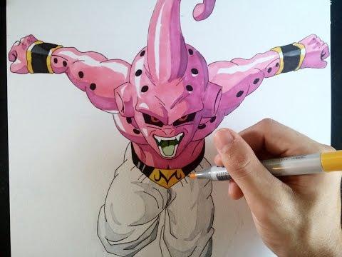 Cómo dibujar a Kid Buu