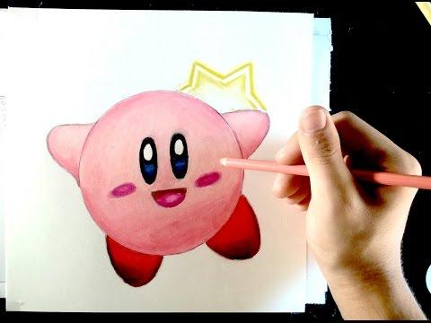 Como dibujar a Kirby