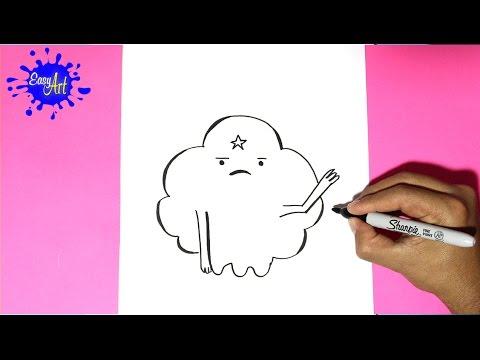 Como dibujar a la Princesa del Espacio Bultos de Hora de Aventuras
