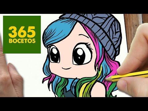 Como dibujar a la youtuber Miranda Ibañez