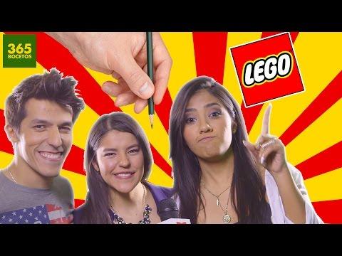 Como dibujar a Los Polinesios estilo LEGO