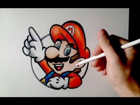 Como Dibujar A Mario Bros