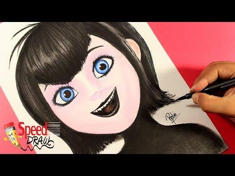 Como dibujar a Mavis la Vampiresa