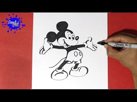 como dibujar Disney
