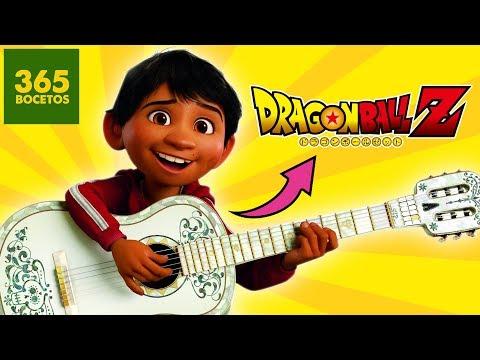 Como dibujar a Miguel de Coco estilo Dragon Ball