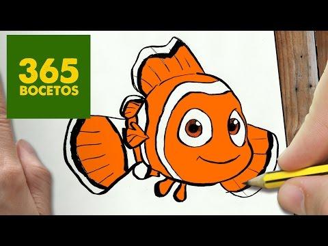 Como dibujar a Nemo