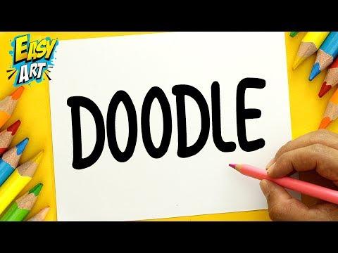 Como dibujar a partir de la palabra Doodle