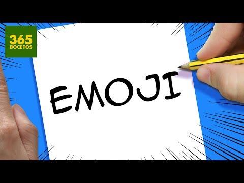 Como dibujar a partir de la palabra Emoji
