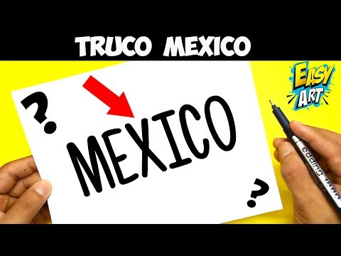 Como dibujar a partir de la palabra Mexico