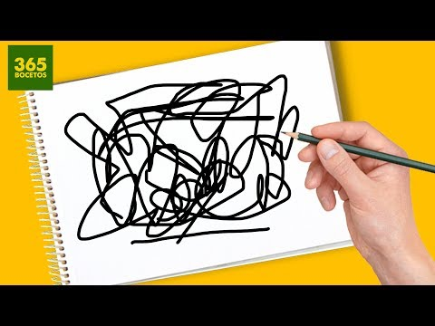Como dibujar a partir de un garabato