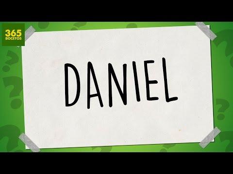 Como dibujar a partir del nombre Daniel