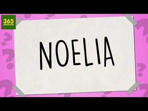 Como dibujar a partir del nombre Noelia