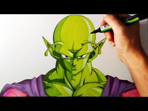 Como Dibujar a Piccolo de Dragon Ball