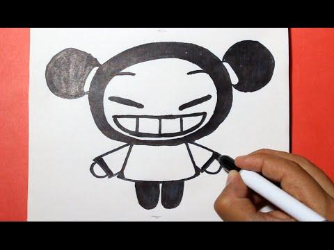 Como dibujar a Pucca