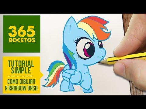 Como dibujar personajes de My Little Pony