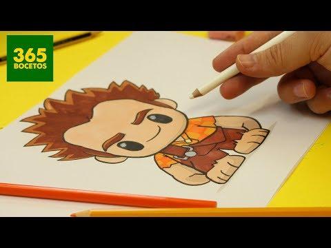 Como dibujar a Rompe Ralph kawaii