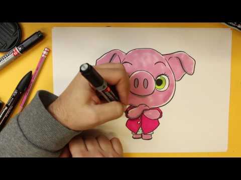 Como dibujar a Rosita de ¡Canta!