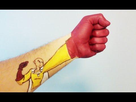 Como dibujar a Saitama de One-Punch Man