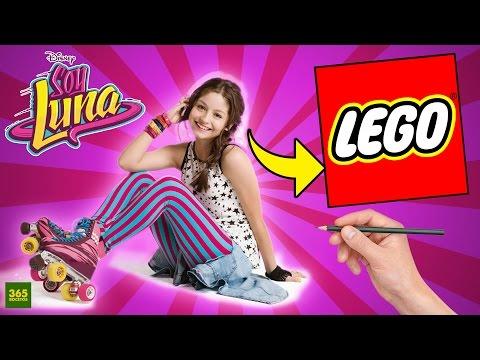 Como dibujar a Soy Luna estilo LEGO