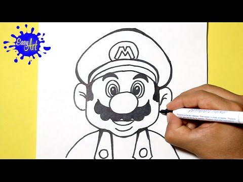 Como Dibujar A Super Mario Bros