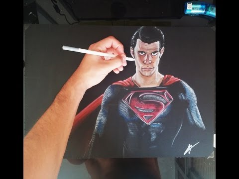 Como dibujar a Superman