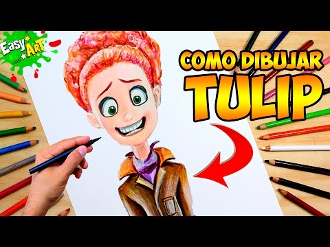 Como dibujar a Tulip de Cigüeñas