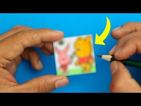 Como dibujar a Winnie the Pooh muy pequeño