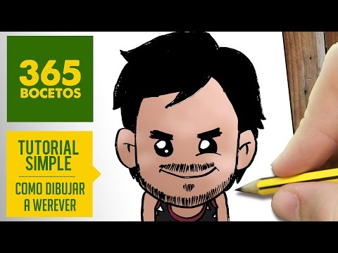 Como dibujar a youtuber Werevertumorro