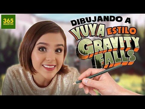Como dibujar a Yuya estilo Gravity Falls