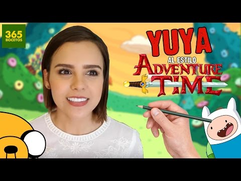 Como dibujar a Yuya estilo Hora de Aventuras