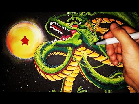 Cómo Dibujar al dragón Shenron