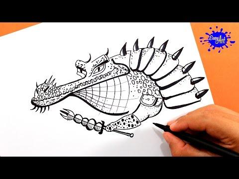 Como dibujar al maestro Croc de Kung Fu Panda