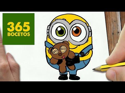 Como dibujar al minion Bob