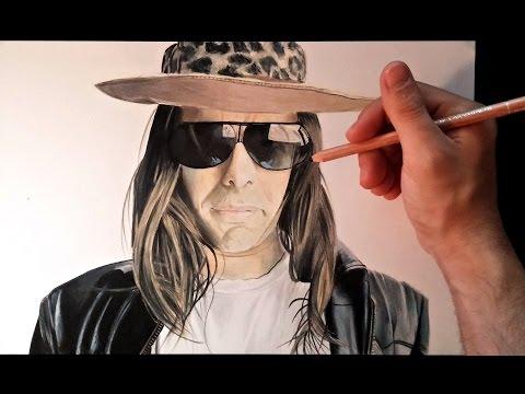 Como dibujar al youtuber Dross Rotzank