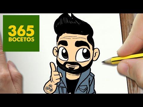 Como dibujar al Youtuber Gwabir